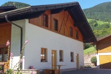 Farm Koflerhof in South Tyrol in the Doloimites
