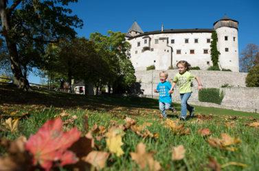 Castello Presule in Alto Adige in autunno