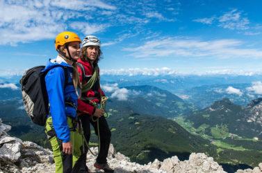 Klettern und Bergsteigen in den Dolomiten