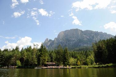 Laghetto di Fiè /Völser Weiher Lake