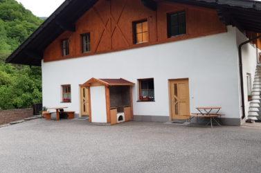Eingangbereich der Ferienwohnungen